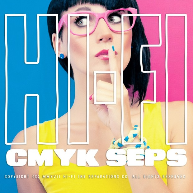 Hi-Fi Ink CMYK Seps