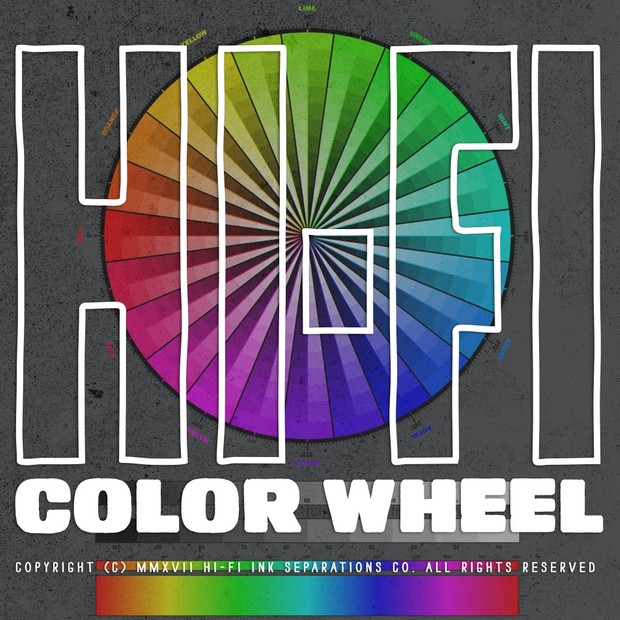 Hi-Fi Ink Color Wheel
