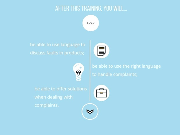 Business English Training for ESL/EFL: Making and Handling Complaints