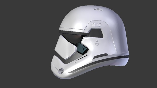 Star Wars TFA Stormtrooper Helmet Episode 7
