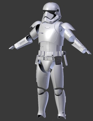 Star Wars First Order Stormtrooper Costume