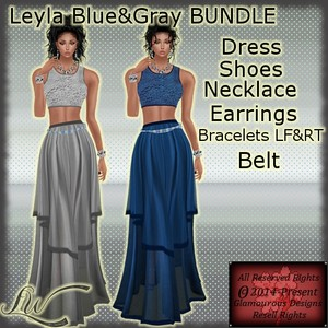 Leyla Blue&Gray BUNDLE- NO RESELL RIGHTS!!!