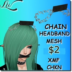 Chain Headband MESH