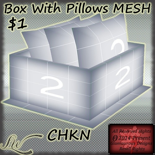 Box With Pillows MESH