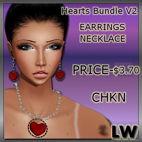 Heart Bundle V2 MESH