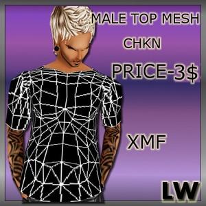 Male Top MESH