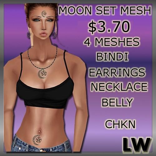 Moon Set MESH-4 Meshes