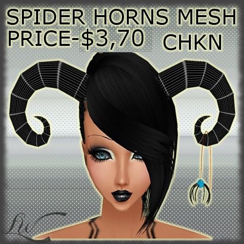 Spider Horns MESH