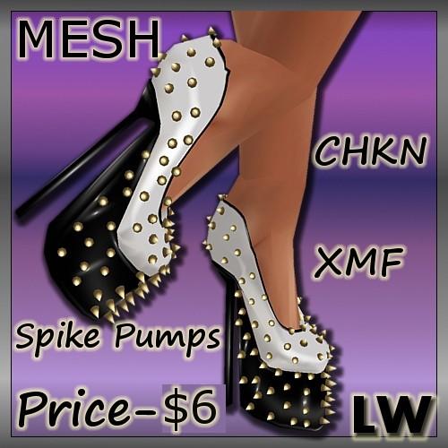 Spike Pumps MESH
