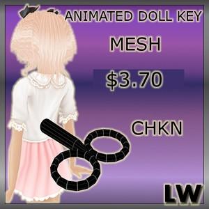 Animated Doll-Key MESH