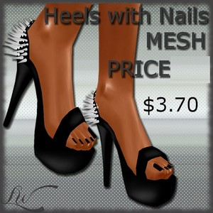Heels With Nails MESH