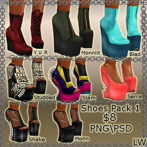 Shoes Pack 1