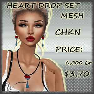 Heart Drop Set MESH