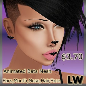 Animated Bats MESH
