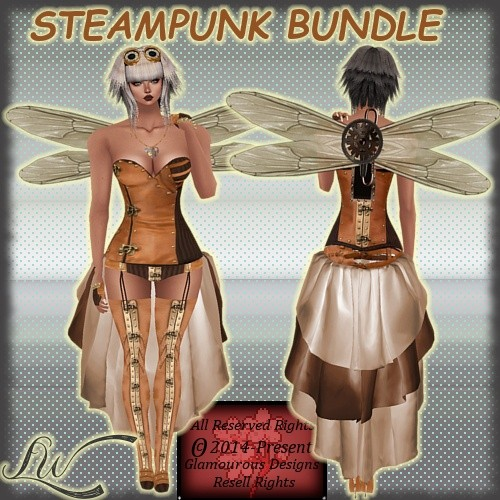 Steampunk Bundle NO RESELL RIGHTS