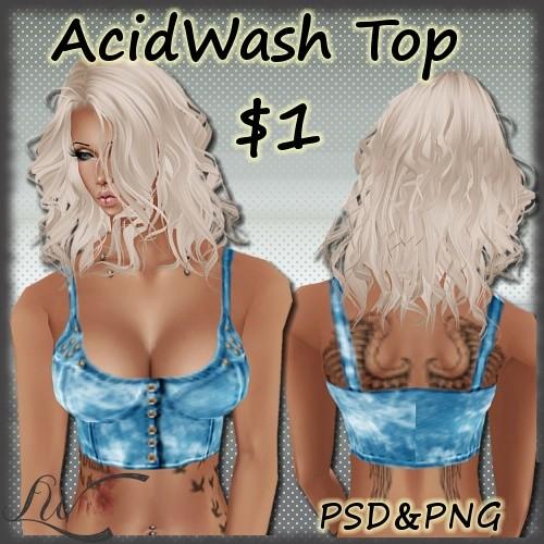 Acid Wash Top