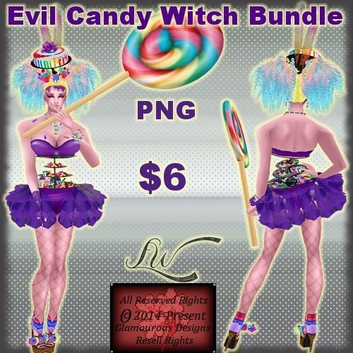 Evil Candy Witch Bundle