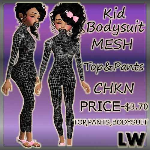 Kid Bodysuit MESH