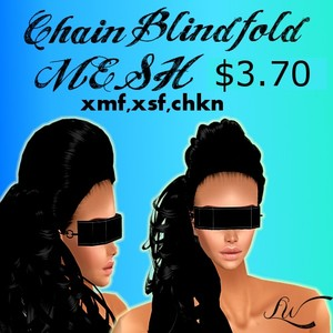 Chain Blindfold MESH