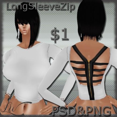 LongSleeve Zip Top