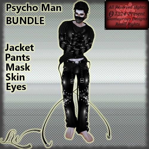 Psycho Man BUNDLE NO RESELL RIGHTS!