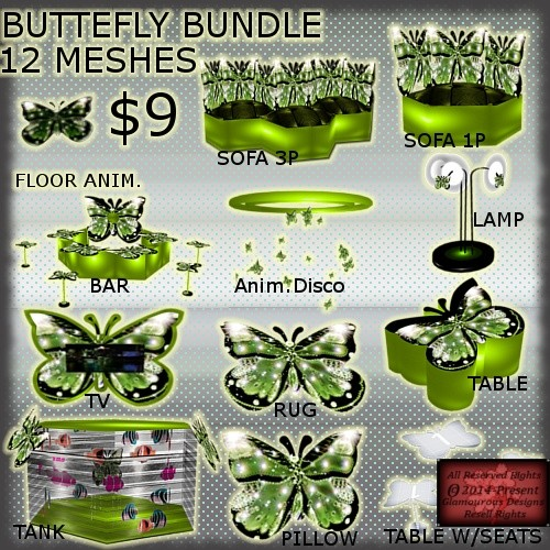 Butterfly Furniture BUNDLE