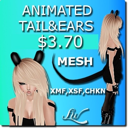 Animated Tail And Ears MESH