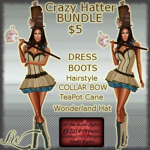 Crazy Hatter BUNDLE
