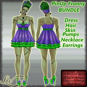 Pin Up Franny BUNDLE With RESELL