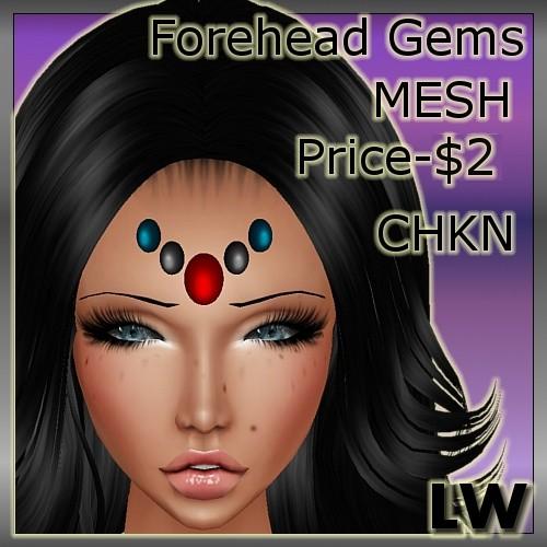 ForeHead Gems MESH