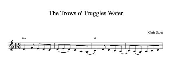 Da Trows o Truggles Water - Chris Stout, solo fiddle & mp3