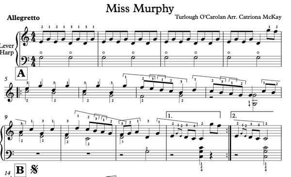Miss Murphy, O'Carolan Arr. C McKay