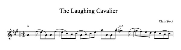 The Laughing Cavalier - Chris Stout, solo fiddle & mp3