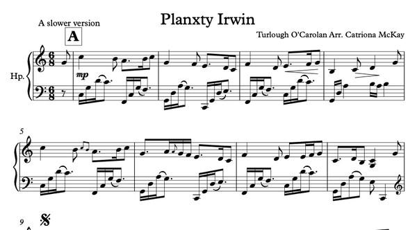 Planxty Irwin O'Carolan Arr. C McKay