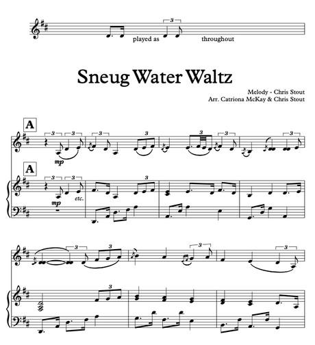 Da Sneug Water Waltz - Chris Stout HARP & FID arr. C McKay & C Stout