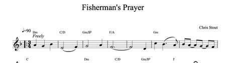 Fisherman's Prayer - Chris Stout, solo fiddle & mp3