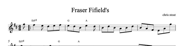 Fraser Fifield's - Chris Stout, solo fiddle & mp3
