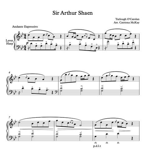 Sir Arthur Shaen arr. C McKay