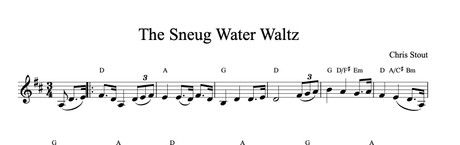 The Sneug Water Waltz - Chris Stout, solo fiddle & mp3