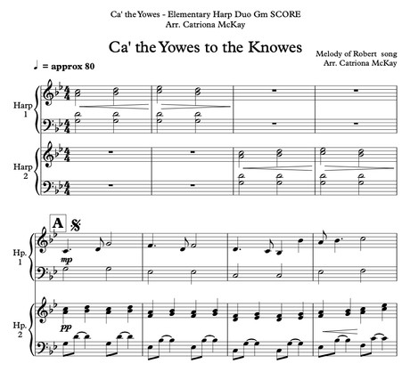 Ca' the Yowes tae the Knowes, HP DUO arr. Catriona McKay