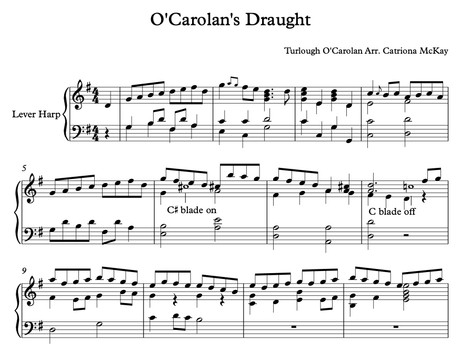 O'Carolan's Draught Arr. C McKay