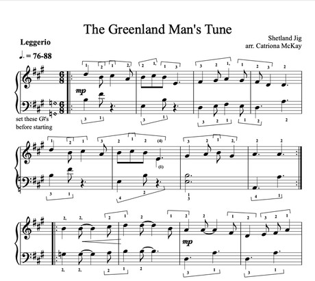 Greenland Man's Tune arr. C McKay