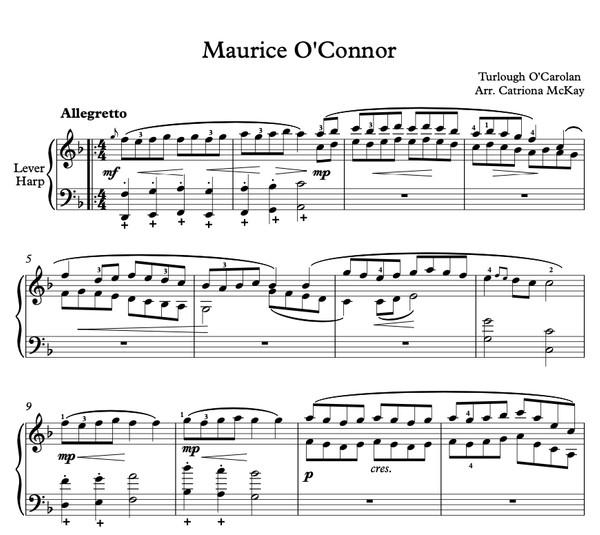 Maurice O'Connor, O'Carolan Arr. C McKay