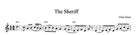 The Sheriff - Chris Stout solo, fiddle & mp3