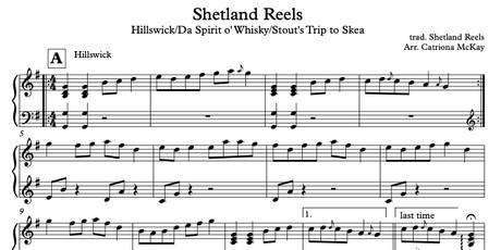 Hillswick/Da Spirit o' Whisky/Stout's Trip to Skea arr. C McKay