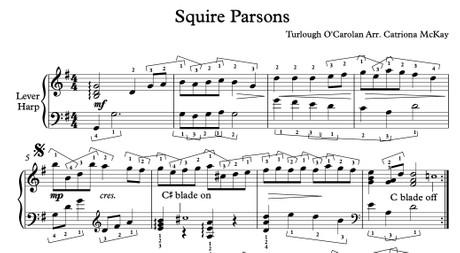 Squire Parsons, O'Carolan Arr. C McKay