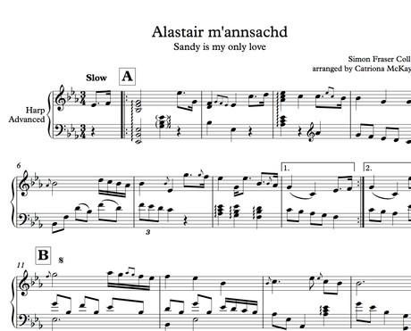 Alastair m'annsachd, traditional slow air from Scotland arr. C McKay
