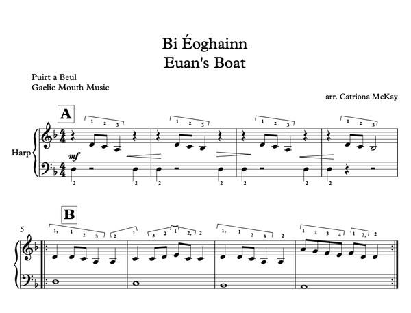 Bi Éoghainn, Euan's Boat Arr. C McKay