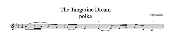 The Tangarine Dream - Chris Stout, solo fiddle & mp3