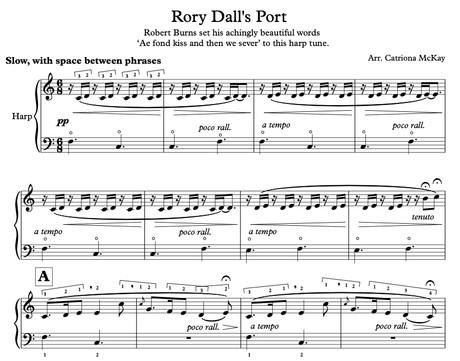Rory Dall's PortEle/Intermediate Harp solo arr. C McKay
